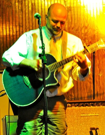 Newport-News blues artist Tim Morgan performs Saturday night at the Cape Charles Coffee House in an ESO Live! on-the-road production.