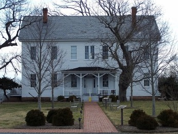 Historic Almshouse is headquarters for Barrier Islands Center in Machipongo.