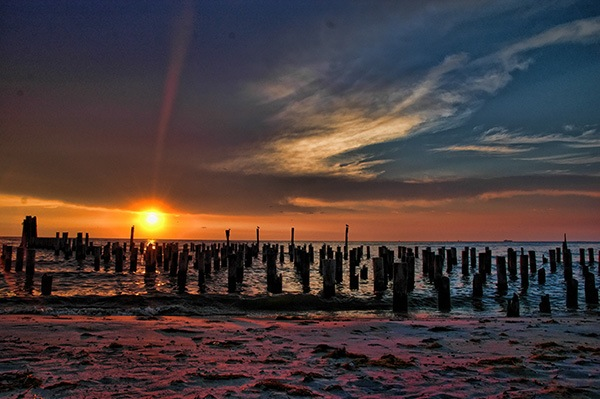 """A Ray of Beaming Light"" by Florence Womacks is one of three winning photos in the Cape Charles by the Bay contest. A total of 72 photographers submitted 451 photos, which are on display this week at Arts Enter."