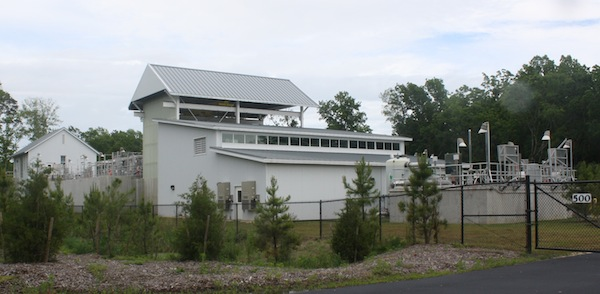 New Town sewage treatment plant cost about $19 million, with $14 million paid by government grants. (Wave photo)