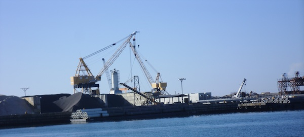 Town's largest potential water/sewer user, Bayshore Concrete Products, has never hooked up. (Wave photo)