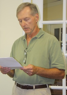 Assistant Town Manager Bob Panek