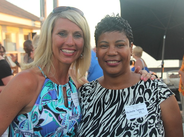 Martha Holdsworth '84 and Michelle Spence '83