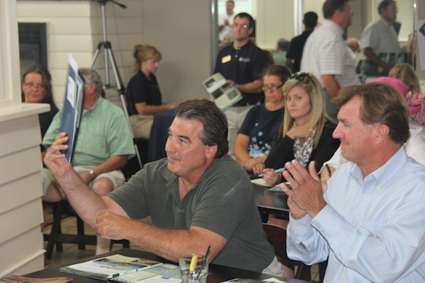 Aqua Restaurant owner Robert Occhifinto makes another winning bid. (Wave photo)