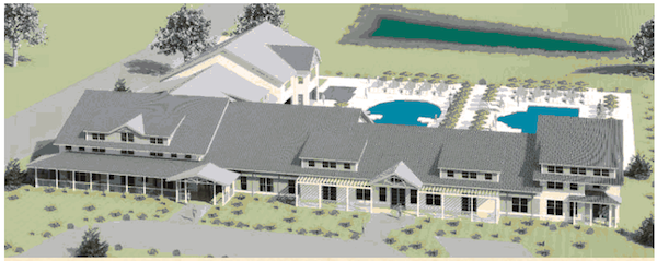 The members-only Bay Creek Beach Club and Fitness Center is planned to open in December.