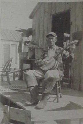 """Sud"" Bell c. 1940 (Hog Island Life, Yvonne Widgeon)"