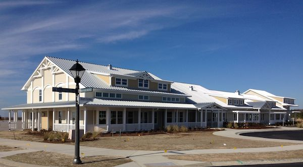 Beach Club has been unkindly described by a Bay Creek property owner as resembling a Williamsburg outlet mall.