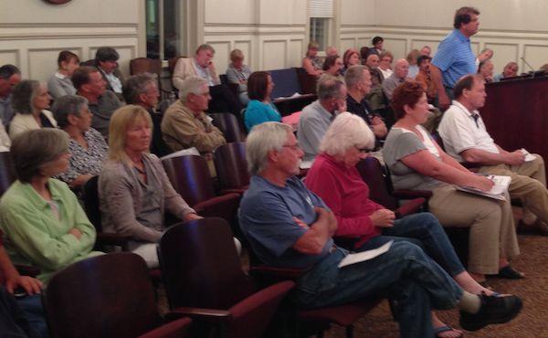 Local Realtor David Kabler addresses Northampton Board of Supervisors May 13