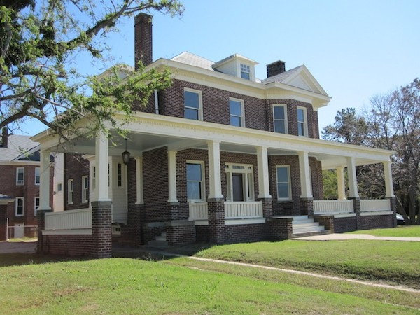 Dryden House at was built by