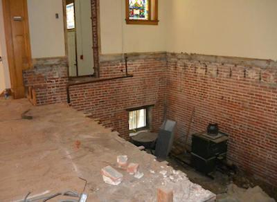 Former Presbyterian Church sanctuary is