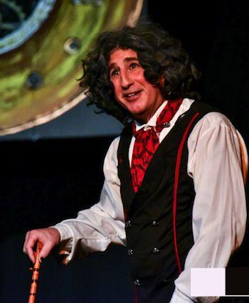 """Nasty"" ol' Ebeneezer Scrooge himself. (Photo: Chris Glennon)"