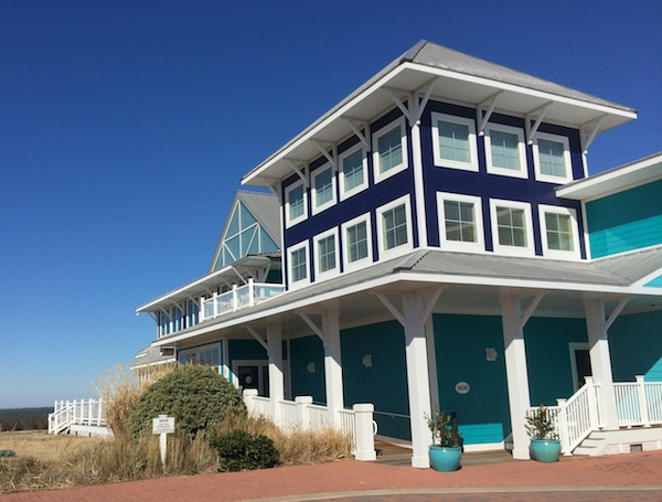 Cape Charles' preeminent restaurant retained its original name of Aqua even after ownership changed.  Now the name is changing and so is the theme to more family-oriented, less expensive dining with more emphasis than ever on fresh seafood -- especially oysters. (Wave photo)