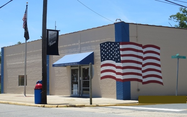 American Legion Post 56 Meeting Hall was repurposed from a Cheriton grocery store. (Photo: Wendy Martin)