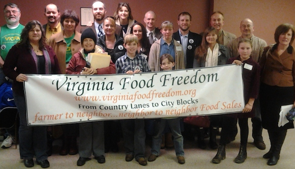 Virginia Food Freedom lost big in Richmond -- but they'll be back to lobby again next year.