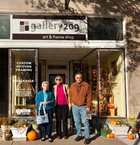 Before the family left town, Geraldine and her children went to 209 Mason Avenue and checked out where the RCP business was located (in what is now Gallery 209).